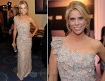 Cheryl Hines In Georges Hobeika Couture - 2011 White House Correspondents' Association Dinner in Washington