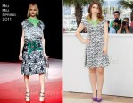 """Eve Hewson In Miu Miu - 2011 Cannes Film Festival """"This Must Be The Place"""" Photocall"""