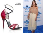"""Olivia Palermo Debuts The Stuart Weitzman Young Hollywood Cares Collection @ """"The Smurfs"""" World Premiere"""