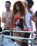 Vacation Style: Rihanna's Custom Made 'We Are Handsome' Bob Marley Swimsuit