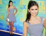 Nina Dobrev In D&G - 2011 Teen Choice Awards