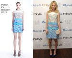 Kate Bosworth In Peter Pilotto - The Alexa Chung For Madewell Fall 2011 Collection Launch Party