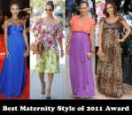 Best Maternity Style of 2011 Award - Jessica Alba