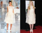 Elle Fanning In Louis Vuitton - 'We Bought a Zoo' New York Premiere