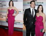 Emily Blunt In Notte by Marchesa -  The 34th Kennedy Center Honors