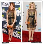 Who Wore Bottega Veneta Better? Emma Stone or Kimberly Perry