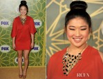 Jenna Ushkowitz In 6 Shore Road - 2012 Fox All Star Winter Press Tour Party