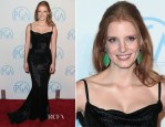 Jessica Chastain In Balenciaga - 2012 Producers Guild Awards