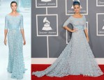 Katy Perry In Elie Saab Couture - 2012 Grammy Awards