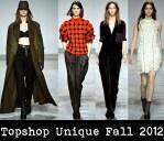 Topshop Unique Fall 2012