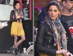 On The Set Of 'Americana' With Ashley Greene In Topshop