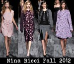 Nina Ricci Fall 2012