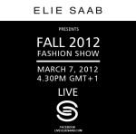 Elie Saab Fall 2012 Live Stream