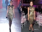 Camilla Belle In Jason Wu - 'The Five Year Engagement' Premiere Party