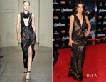 Cobie Smulders In Donna Karan - 'The Avengers' LA Premiere