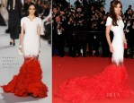 Cheryl Cole In Stéphane Rolland Couture - 'Amour' Cannes Film Festival Premiere
