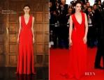 Kristen Stewart In Reem Acra - 'Cosmopolis' Cannes Film Festival Premiere