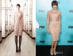 Lea Michele In Emilio Pucci - Fox Upfronts 2012