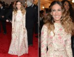 Sarah Jessica Parker In Valentino Couture - 2012 Met Gala