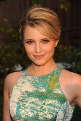 Dianna Agron in Tracy Reese for Anthropologie