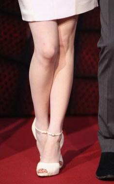 Emma Stone's Christian Louboutin heels