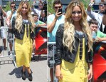 Demi Lovato In Topshop - The X-Factor Kansas Auditions