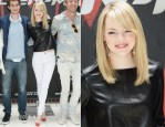 Emma Stone In J Brand & Rag & Bone - 'The Amazing Spider-Man' New York Photocall