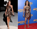 Jada Pinkett Smith In Salvatore Ferragamo - 'Madagascar 3: Europe's Most Wanted'