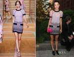Jessica Stam In Versus - Coach's Summer Party on the High Line