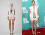 Leighton Meester In Christian Cota - 2012 MTV Movie Awards
