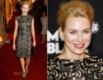 Naomi Watts In Vintage Versace - Montblanc New And Biggest Concept Store World Premiere