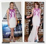 Who Wore H&M Red Carpet Conscious Collection Better? Michelle Jenner or Shu Qi
