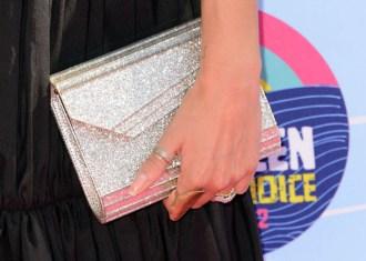 Nikki Reed's Jimmy Choo 'Candy' clutch