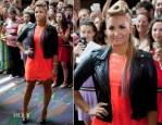 Demi Lovato In Topshop - The X Factor Greensboro Auditions