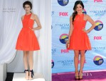 Lucy Hale In Wes Gordon - 2012 Teen Choice Awards