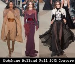 Stéphane Rolland Fall 2012 Couture