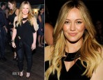 Hilary Duff In Mason by Michelle Mason & Current/Elliott - The Hollywood Reporter Celebrates 'The Mindy Project'