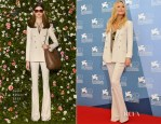 Kate Hudson In Gucci - 'The Reluctant Fundamentalist' Venice Film Festival Photocall