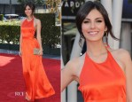 Victoria Justice In Contrarian New York - 2012 Creative Arts Emmy Awards