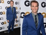 James Van Der Beek In Knot Standard for Confederacy BTQ - GQ Men of the Year Party