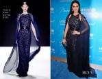 Katy Perry In Naeem Khan - UNICEF Snowflake Ball