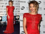 Kimberly Walsh In Jacques Azagury - 21st Music Industry Trust Awards