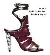 Look 7 - Roland Mouret 'Didis Purple'