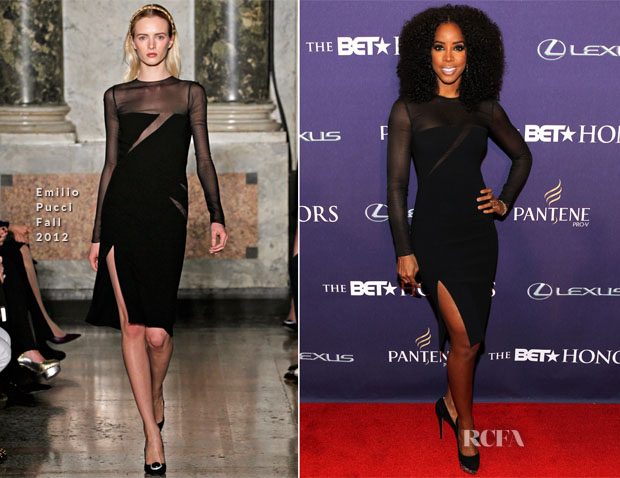 Kelly Rowland In Emilio Pucci - BET Honors 2013
