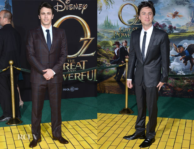 'Oz The Great and Powerful' LA Premiere Menswear Round Up
