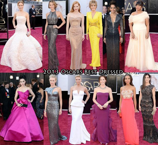 2013 Oscars Best Dressed