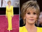 Jane Fonda In Atelier Versace - 2013 Oscars