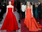 Jennifer Aniston In Valentino - 2013 Oscars