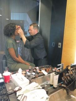 Makeup by Matthew Militello at M.A.C.