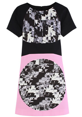 Arel_RS1AAF12421_WhtBlk_Dress